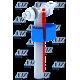 Арматура боковая 1/2' с пластиковым штуцером эконом WC5050