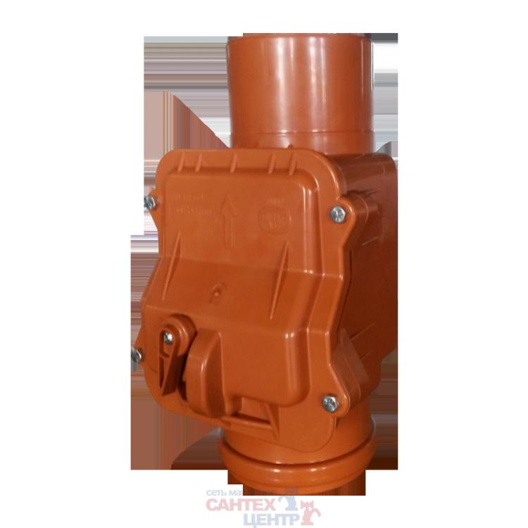 Клапан обратный канализационный Ду110 Sinikon