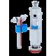 Набор с боковой подводкой 1/2', с пластиковым штуцером кнопка металлизированная эконом WC6050M