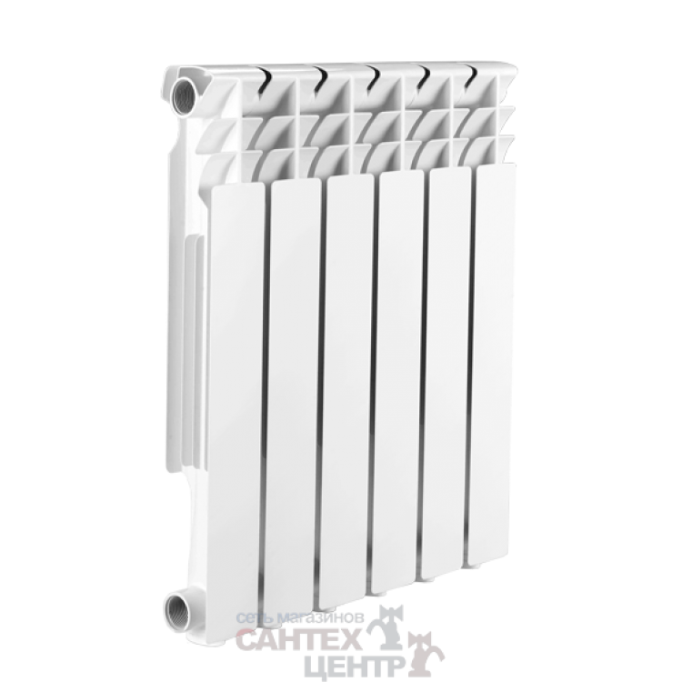 Радиатор алюминиевый 350/80 8 секций Ogint Delta