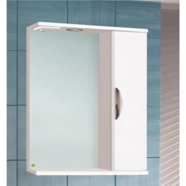 Шкаф зеркальный Ника-600 с подсветкой правый