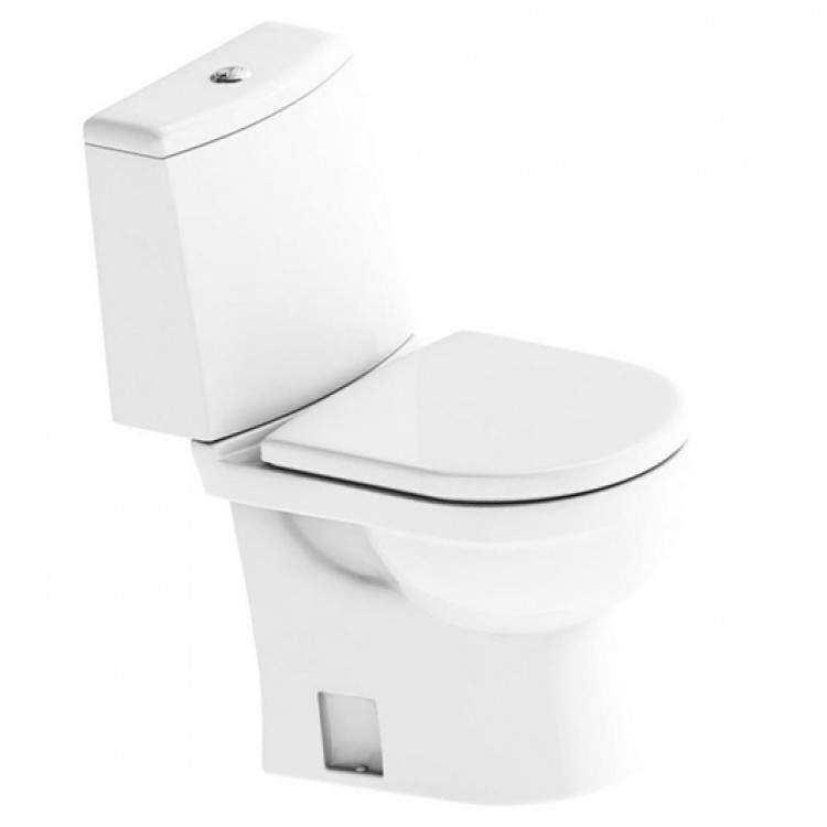 Унитаз SANITA Компакт Next Luxe SL DМ (белый)
