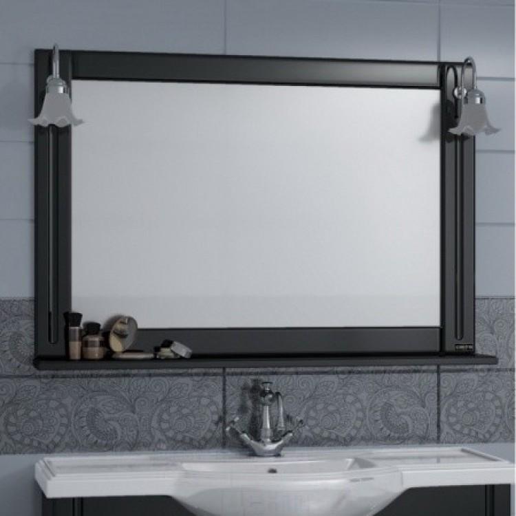 Зеркало Монарх 100см, с двумя светильниками